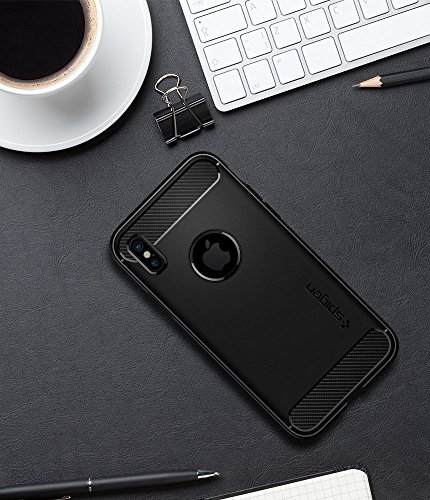 Spigen Rugged Armor for Apple iPhone XS & X Cases