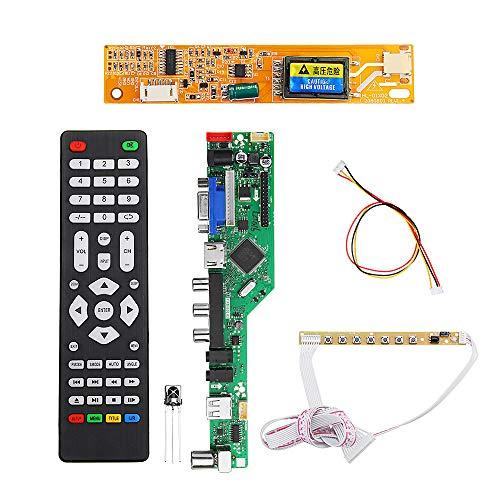 OverTop T.RD8503.03 Universal LCD LED TV Controller Treiber Board TV/PC/VGA/HDMI/USB + 7 Tasten + 1 Lampenwechselrichter