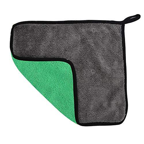 Haihui Toalla de microfibra para coche, muy absorbente, suave, gruesa 30, 30, 40, 30, 30, 40, 30, 60