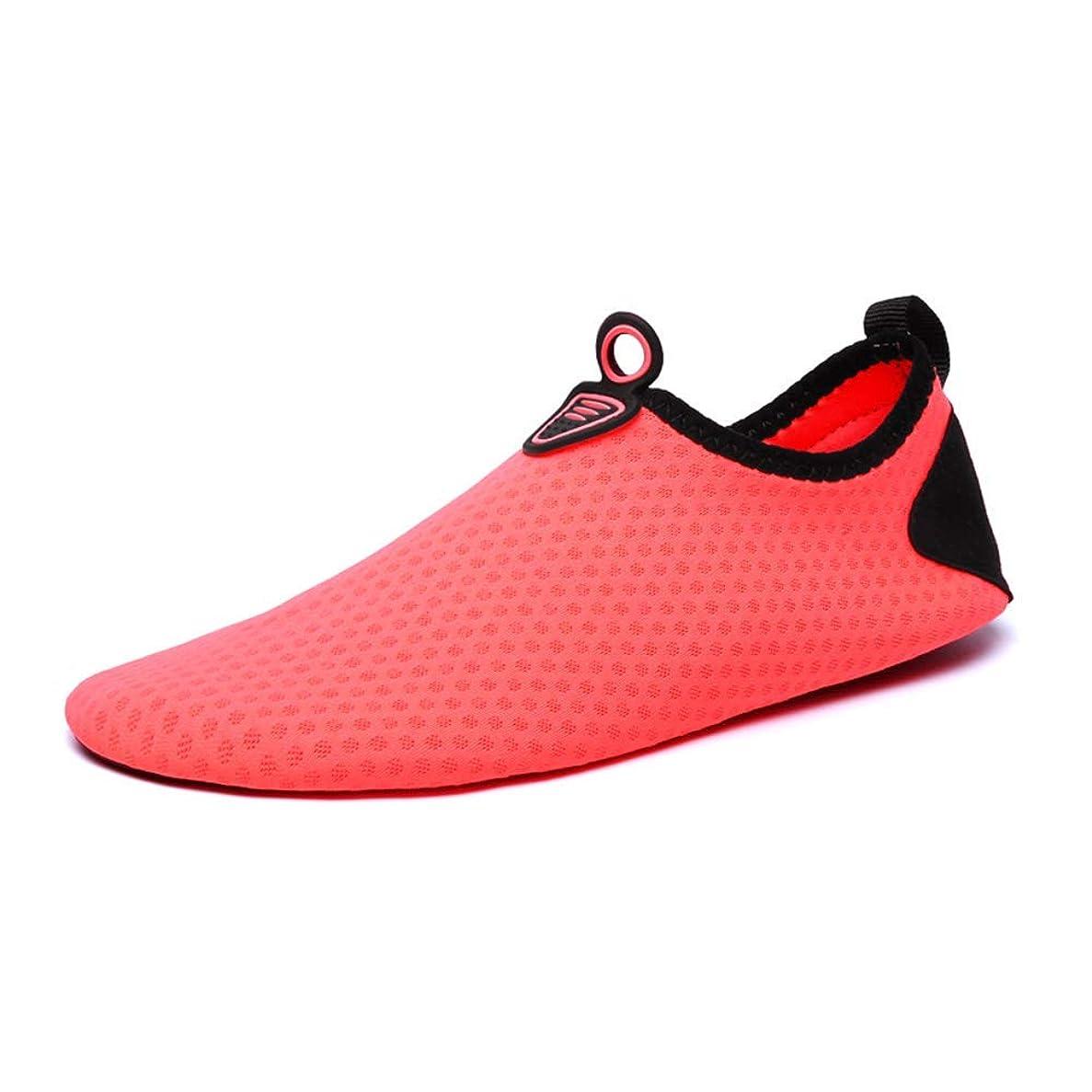 学者ブランデーキネマティクス[AKRI] ウォーターシューズ 滑り止め ビーチサンダル シュノーケリング 速乾 アクアシューズ ユニセックス ソフト 通気性 スポーツ ビーチシューズ 水陸両用 水遊びの靴