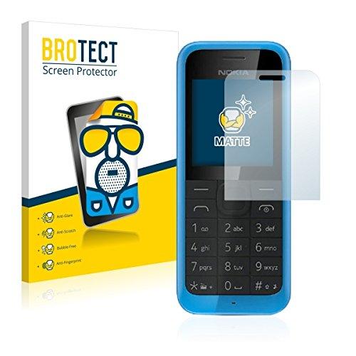 2X BROTECT Matt Bildschirmschutz Schutzfolie für Nokia New 105 (matt - entspiegelt, Kratzfest, schmutzabweisend)