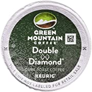 Green Mountain Coffee Double Black Diamond, K-Cup for Keurig Brewers