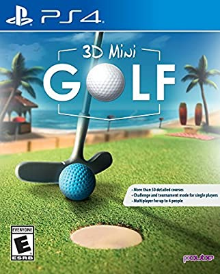 3D Mini Golf PlayStation