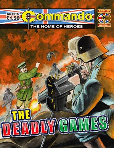 Commando #4515: The Deadly Games (English Edition)