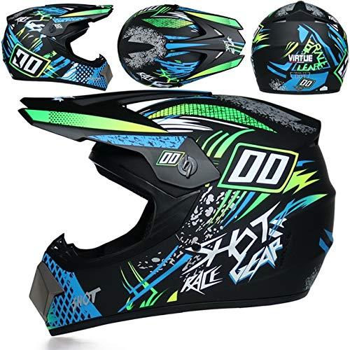 Mdder Nuovo casco per motociclista fuoristrada adulto downhill mountain bike casco cappuccio DH tesa rimovibile - 3b XM
