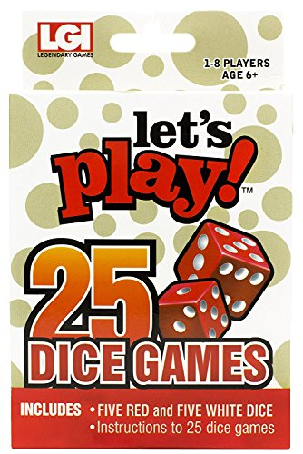 Lets Play 25 Games  Dice Games