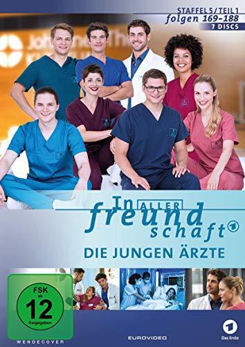 In aller Freundschaft - Die jungen Ärzte, Staffel 5, Folgen 169-188 [7 DVDs]