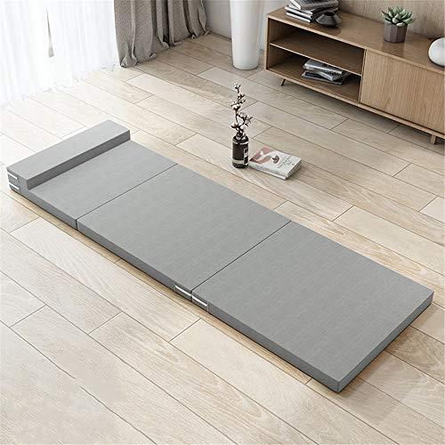 Colchón plegable Multifuncional plegable colchón de esponja ahorra espacio estera Sofá cama...