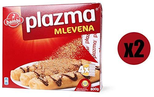 Bambi Plazma Keks (gemahlener Keks) Einzigartiger und erkennbarer Geschmack, nahrhaft, reich an Vitaminen und Mineralstoffen, Keks für die ganze Familie Packung 2 x 800g