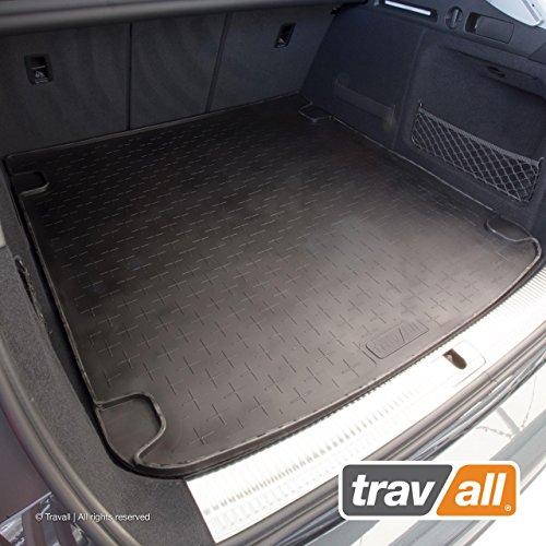 Travall Liner Tappetini Per Bagagliaio Compatibili Con Audi A4 Avant (2015-Corrente) Allroad (2016-Corrente) TBM1141 - Vasca Baule In Gomma Originale
