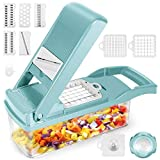 Vegetable Choppers, Onion Chopper, 12 in 1 Vegetable Cutter, Pro Slicer Dicer, Cutter, Manual...