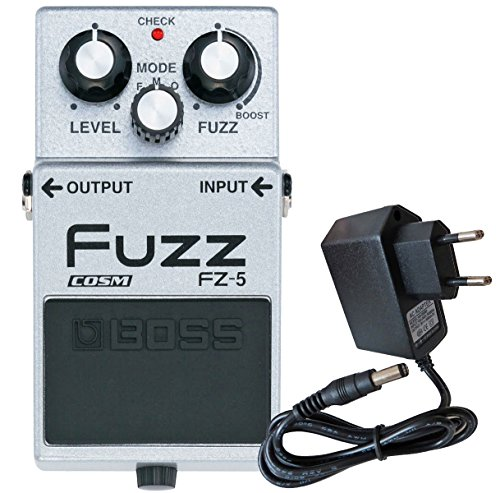 Boss FZ de 5 Fuzz Pedal de efecto dispositivo + Keepdrum 9 V Fuente