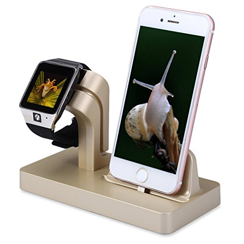 FACEVER Soporte de Cargador para Apple Watch, Soporte y Esta