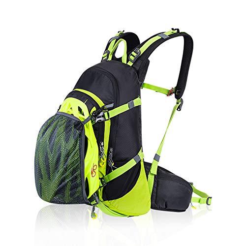 TRF Vélo Sac à Dos, Sac à Dos étanche 20L vélo avec Housse de Pluie, Genou - Sac Téléphone, Confortable - Ultraléger Portage Pack pour Run Randonnée Camping