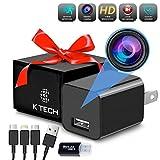 K Tech Phone Charger Camera, Hidden Camera, Hidden Nanny Cam, Spy Camera Charger