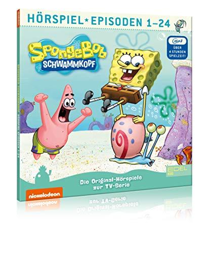 SpongeBob Schwammkopf - Staffelbox 1 (mp3-CD) - Folge 1 - 24 - Die Original-Hörspiele zur TV-Serie