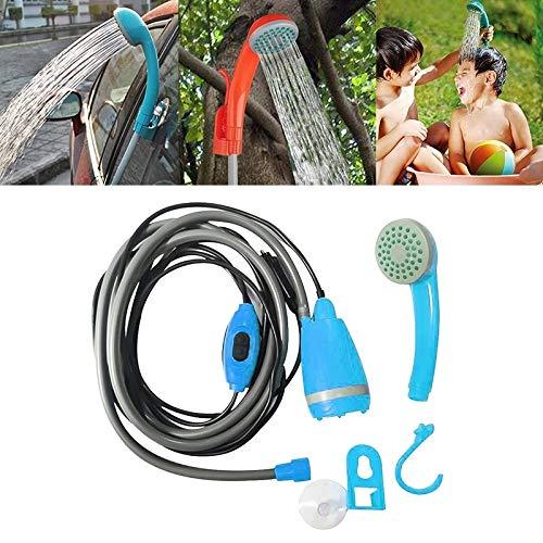 PEISHI 12V bewegliche im Freien Universalauto Elektro-Dusche-Sprenger Washer (orange) Gartenschlauch Gun (Color : Blue)