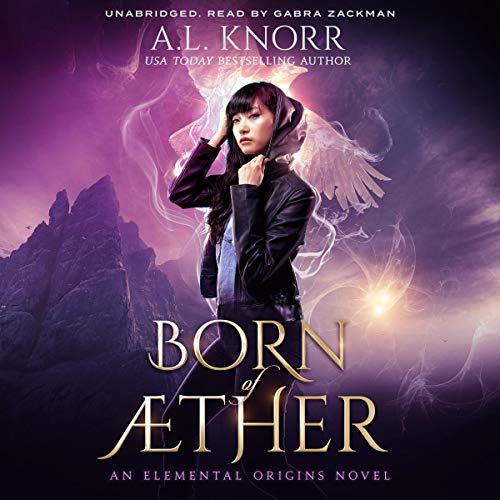 Born of Aether audiobook cover art