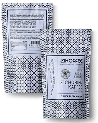 Zichorienkaffee natürlicher kaffeeersatz ohne Koffein, auf Basis der Zichorie / Chicory / Zickorien Kaffee, Zichorie, Wegwarte