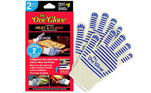 The Ove Glove - Superior HEAT & FLAME Hand Protection - 2 Pack Glove