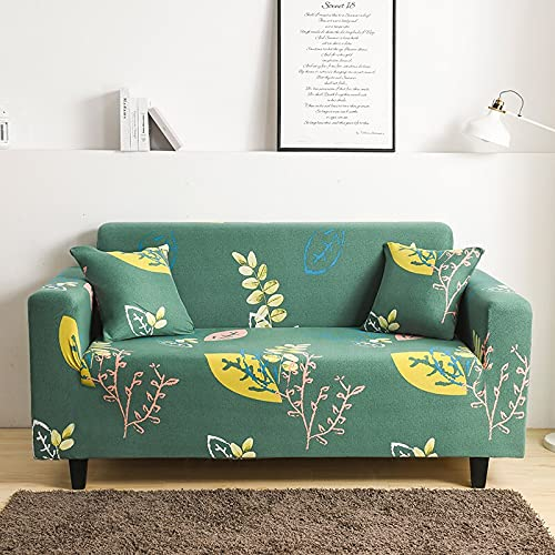 PPOS Funda de sofá elástica para Sala de Estar Funda de sofá Antideslizante Funda de sofá elástica de Spandex Universal A1 4 Asientos 235-300cm-1pc