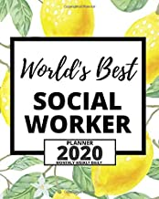 World's Best Social Worker: 2020 Planner For Social Workers, 1-Year Daily, Weekly And Monthly Organizer With Calendar, Appreciation Gift For Social Worker (8