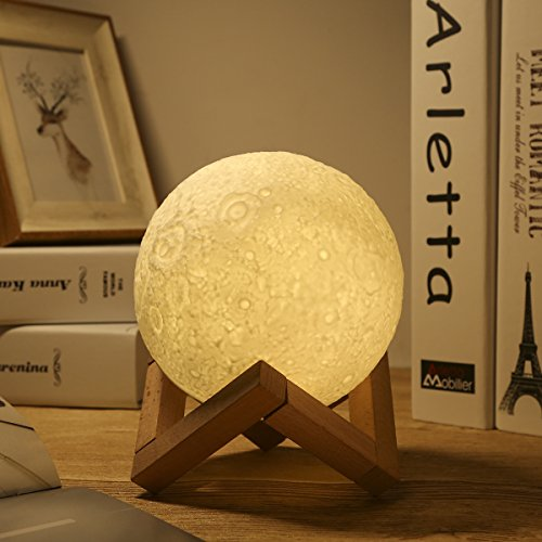 GreenClick LED Luna Moon Lamp Review