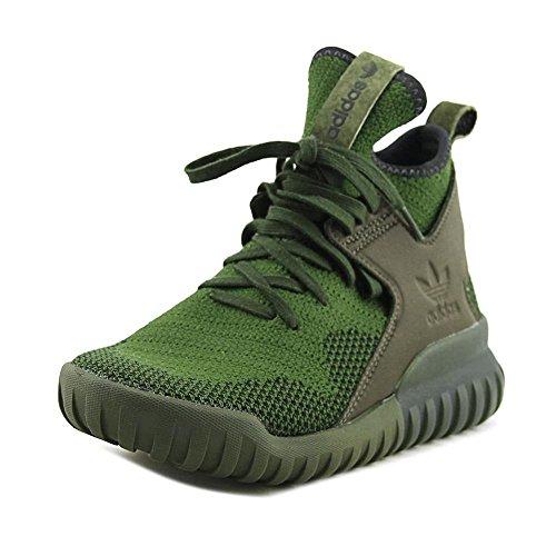 Adidas Tubular X PK Herren-Sneaker, Grn (Midnight Cargo / Black-Midnight Cargo), 41 EU