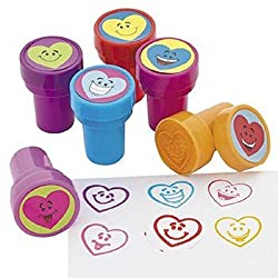 Heart Smile Face Stampers