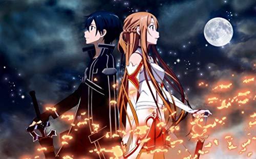 Sword Art Online Anime Poster Frameless Gift 12 x 18 inch(30cm x 46cm)-LT-132
