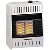 ProCom MNSD2TPA Dual Fuel Ventless Infrared Plaque Heater, 10,000 BTU