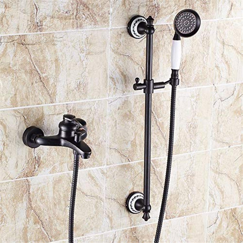 Schwarz antik Kupfer Dusche entsprechen europischen amerikanischen Badewanne Armaturen wasser Mischventil, B