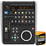 Behringer X-Touch ONE Universal Control Surface with Touch-Sensitive Motor Fader Bundle with 1 Year Extended Warranty