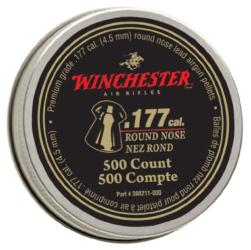 Best 177 pellets for hunting - Winchester Round Nose .177 Caliber Pellets