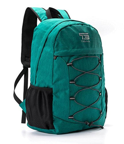 TIBAG 30L/35L Water Resistant Lightweight Packable Foldable Hiking Camping Daypack Backpack