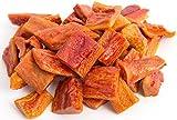 Papaya | getrocknet | 250g Frischebeutel | Qualitätsware - 100% Natural | Papaya Stücke | Naturbelassen | aromatisch | Papaya getrocknet | Papayastücke | ungezuckert | ungeschwefelt | ohne Konservierungsstoffe | ohne Farbstoffe | ohne Zucker| Natur | getrocknet | Müsli | Trockenfrüchte | Vitalsnack | Vitalesia