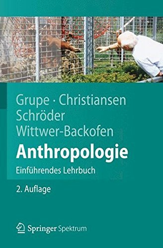 Anthropologie: Einf??hrendes Lehrbuch (Springer-Lehrbuch) by Gisela Grupe (2012-04-05)