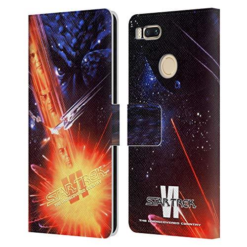Head Case Designs Oficial Star Trek El País Indescubierto Pósters de película Tos Carcasa de Cuero Tipo Libro Compatible con Xiaomi Mi A1 / Mi 5X
