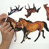 RoomMates - Wandsticker Wildpferde 24 Stück - 2