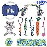 BOMPOW Durable Puppy Toys Teething Set