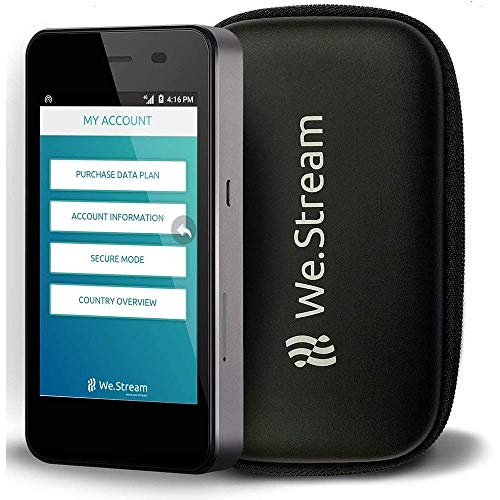We.Stream Premium Mobile WiFi Hotspot for International Travelers - 50...