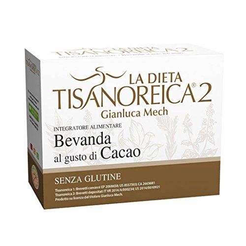 Tisanoreica Bevanda al Cacao - Confezione da 4 Buste