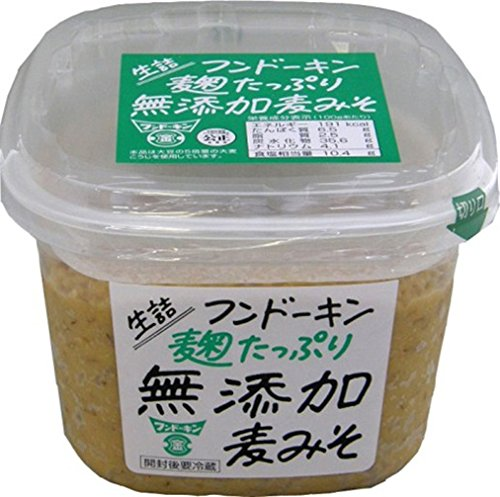 フンドーキン 生詰麹たっぷり無添加麦みそ 850g×2個