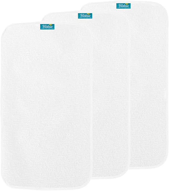 Changing Pad Liner Waterproof 3 Pack Large Cotton Terry Surface Washable Changing Pad Cover