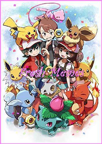 Pokemon Lets Go, Pikachu , Eevee Mhemes : Funny Story, Cool Stuff, Epic Comedy, Comics book (Chap 1) (English Edition)