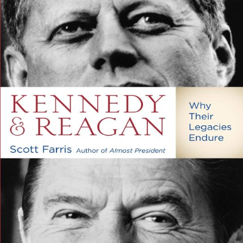 Kennedy and Reagan audiobook cover art