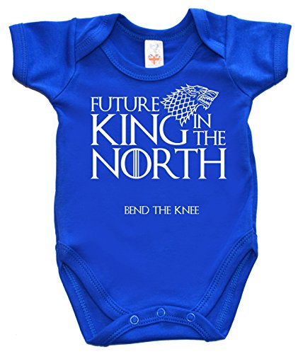 Image is Everything IIE, Baby Game Gift, Future King in the North, Body - Bleu - XXXS