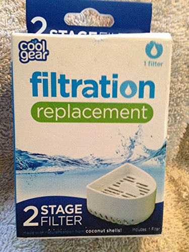 NEW Cool Gear Stage 2 Filter Replacement for the Filtration and Infuser Pitcher ;PO#44T-KH/435 H25W3331014