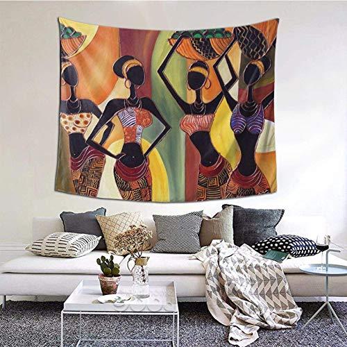 Tapiz de pared indie para sala de estar, dormitorio, dormitorio, decoración de dormitorio, patrón vintage 150 x 152 cm