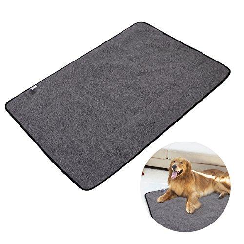 UEETEK Faltbare wasserdichte Haustier Decke Camping Decke, Hund Katze Matte Warming Decke mit Tragetasche für Hunde und Katzen 100 * 70CM